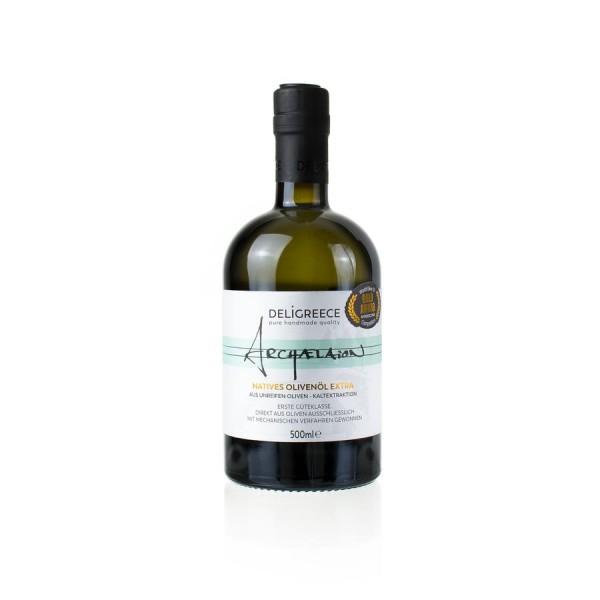 Archaelaion - Extra natives Olivenöl aus unreifen Oliven