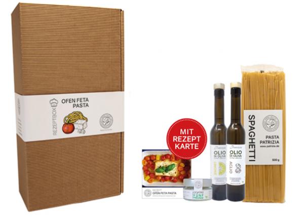 Rezeptbox Ofen Feta Pasta