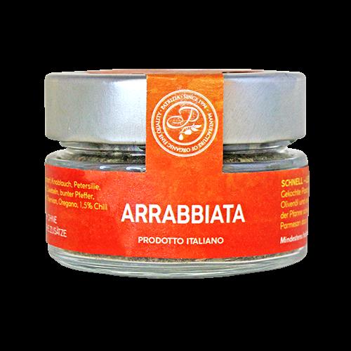 Arrabbiata - feurig und pikant - Pastagewürz