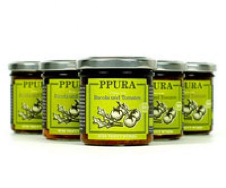 PPURA - Pesto von Rucola und Tomaten