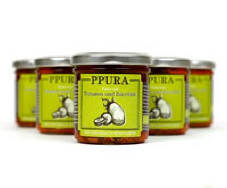 PPURA - Pesto von Tomaten und Zucchine